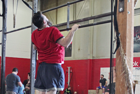 jumping chest to bar