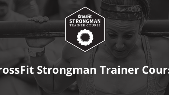CrossFit strongman training