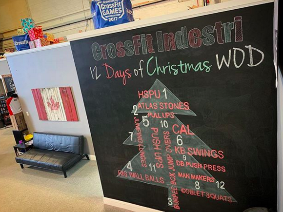 12 Days Of Christmas Crossfit Wod.12 Days Of Christmas Friday December 21st 2018
