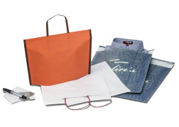 Gift Bags and Pochettes with Sealing Strip