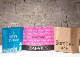 Standing Shopping Bags with different patterns