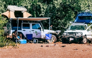 Nomad America camping in Guanacaste