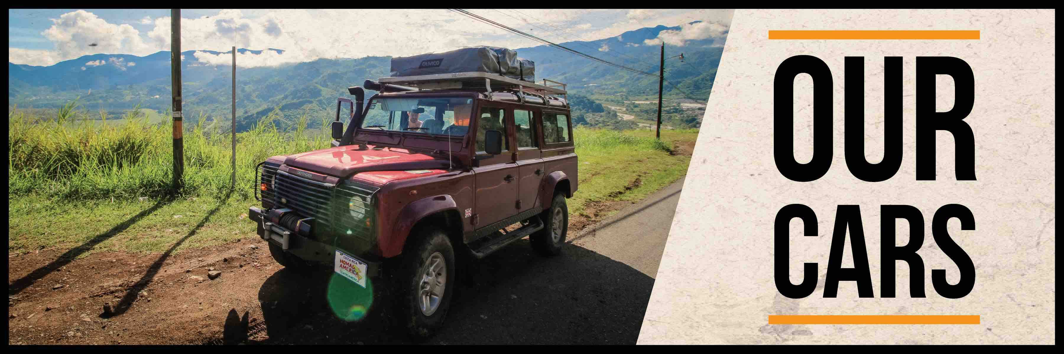 Best 4x4 rentals in Costa Rica - Land Cruisers - Land Rovers - Jeep Wranglers
