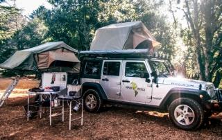 Camper van or 4x4 camper rentals in Costa Rica