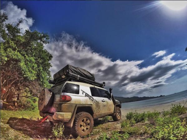 Land Cruiser and FJ Cruiser rental Costa Rica 4x4