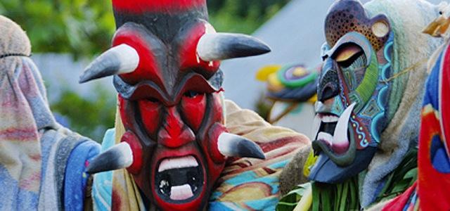 Fiestas de los diablitos Costa Rica