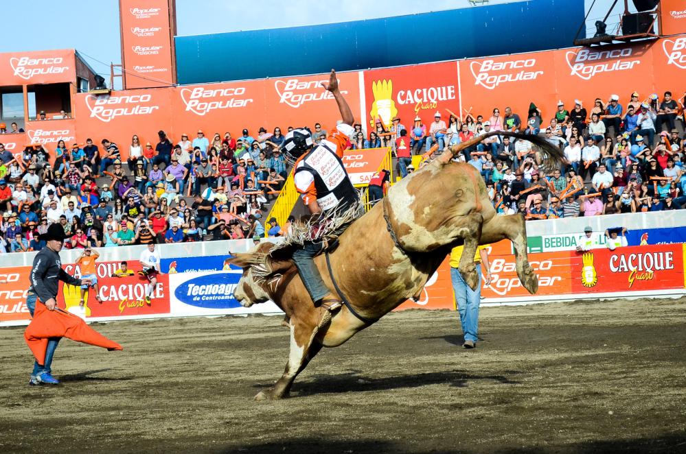 Costa Rica bullriding festival