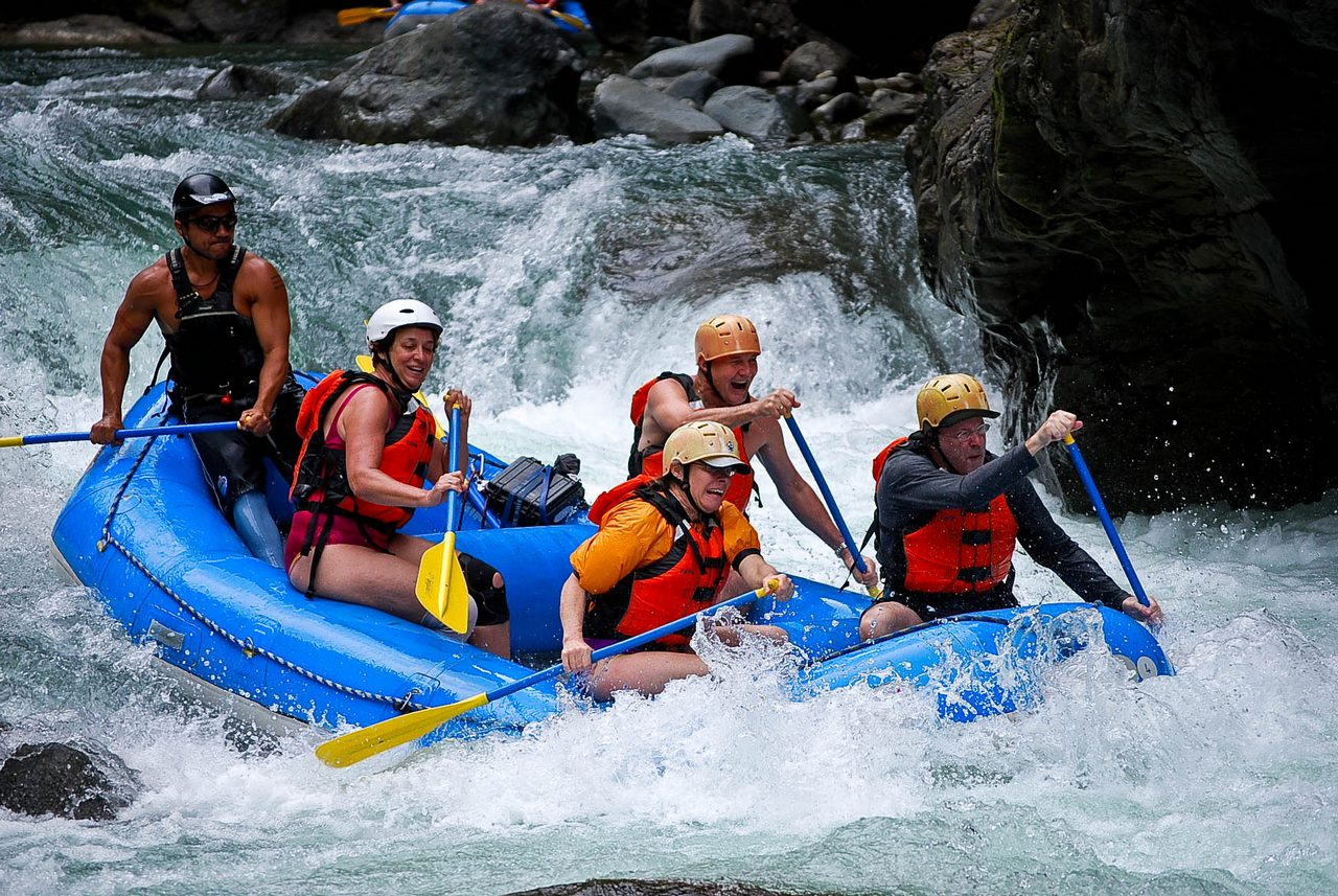 Best places to raft in Costa Rica