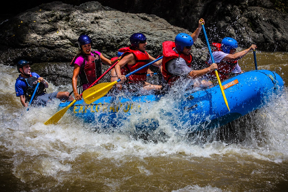 Costa Rica rafting in Guanacaste