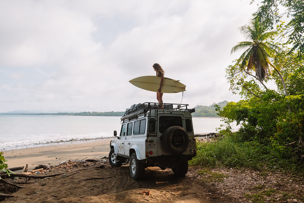 Going surfing in Costa Rica what car should I rent?