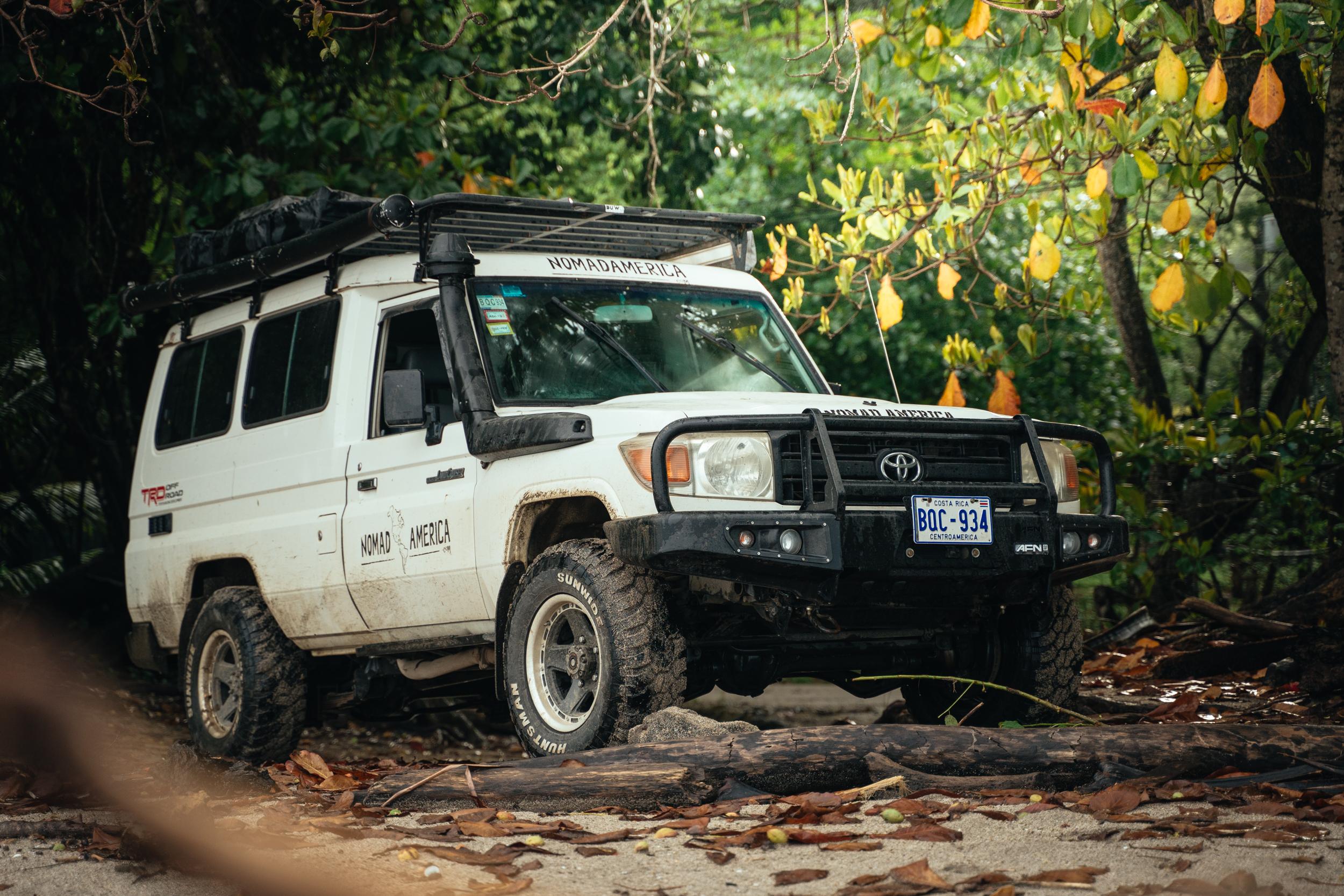 Nomad America 4×4 Car Rental Costa Rica and Panama – Nomad