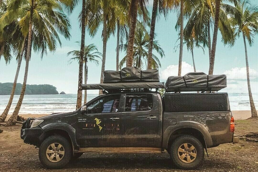 Double Rooftop tent Hilux