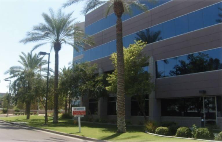 Phoenix, AZ Tenant Improvement at 444 Office Complex