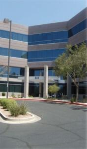 Phoenix, AZ Tenant Improvements at 444 Office Complex