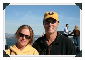 Lisa and Paul fleet week small