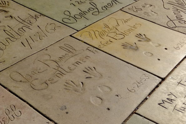 65 YEARS OF MARILYN AT GRAUMAN'S CHINESE THEATRE