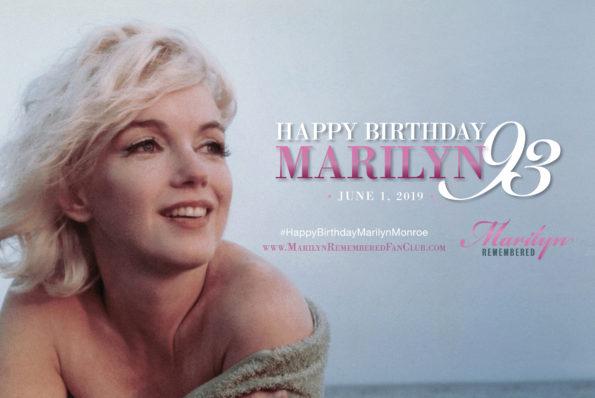 BIRTHDAY TRIBUTES TO MARILYN