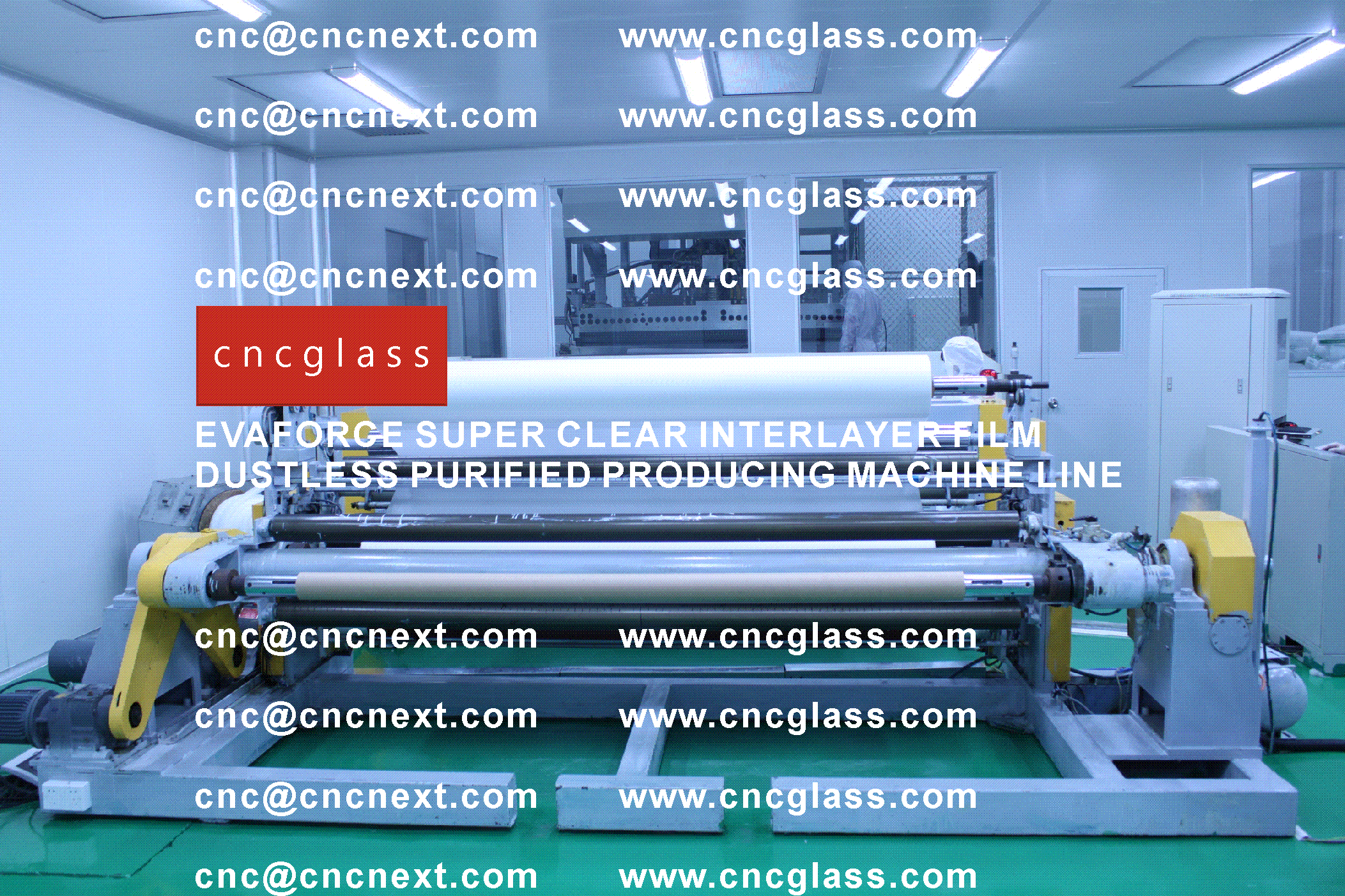 002 EVAFORCE SUPER CLEAR INTERLAYER FILM PRODUCING MACHINE LINE