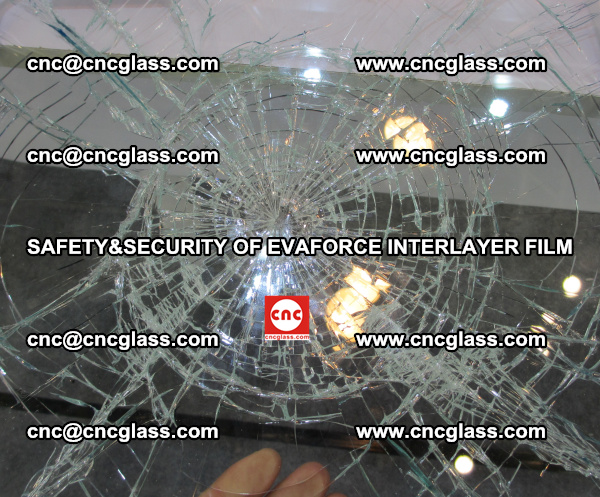 EVA Film Laminated Glass offers Safety and Security properties (2)