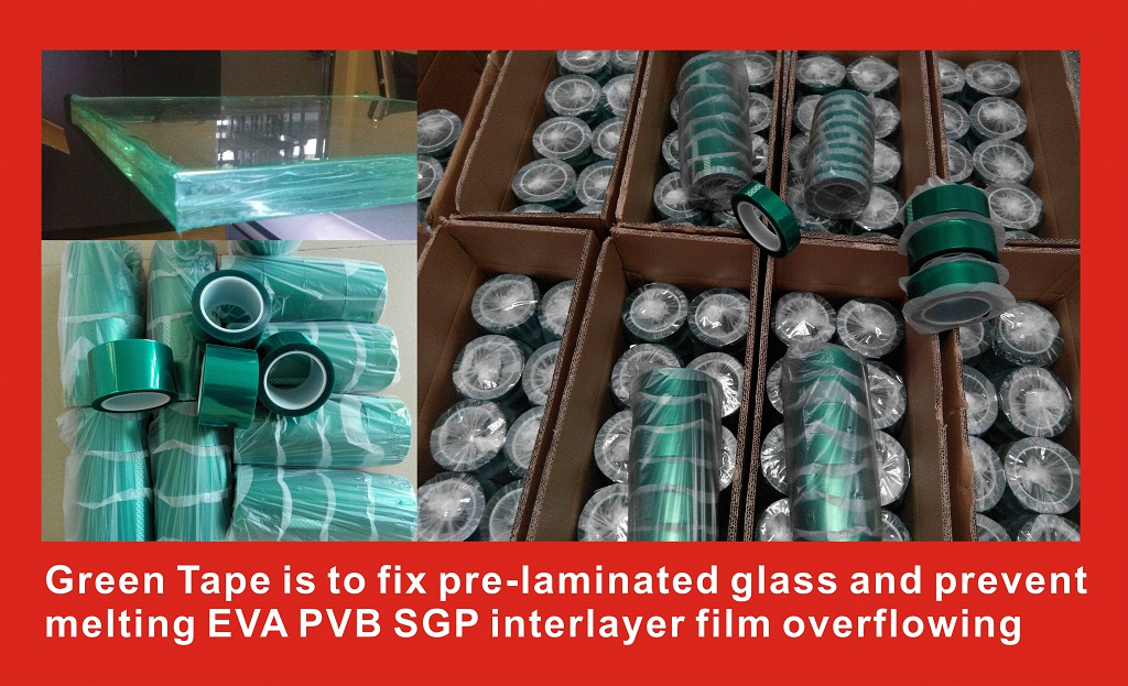 Thermal Green Tape for safety glazing (1)