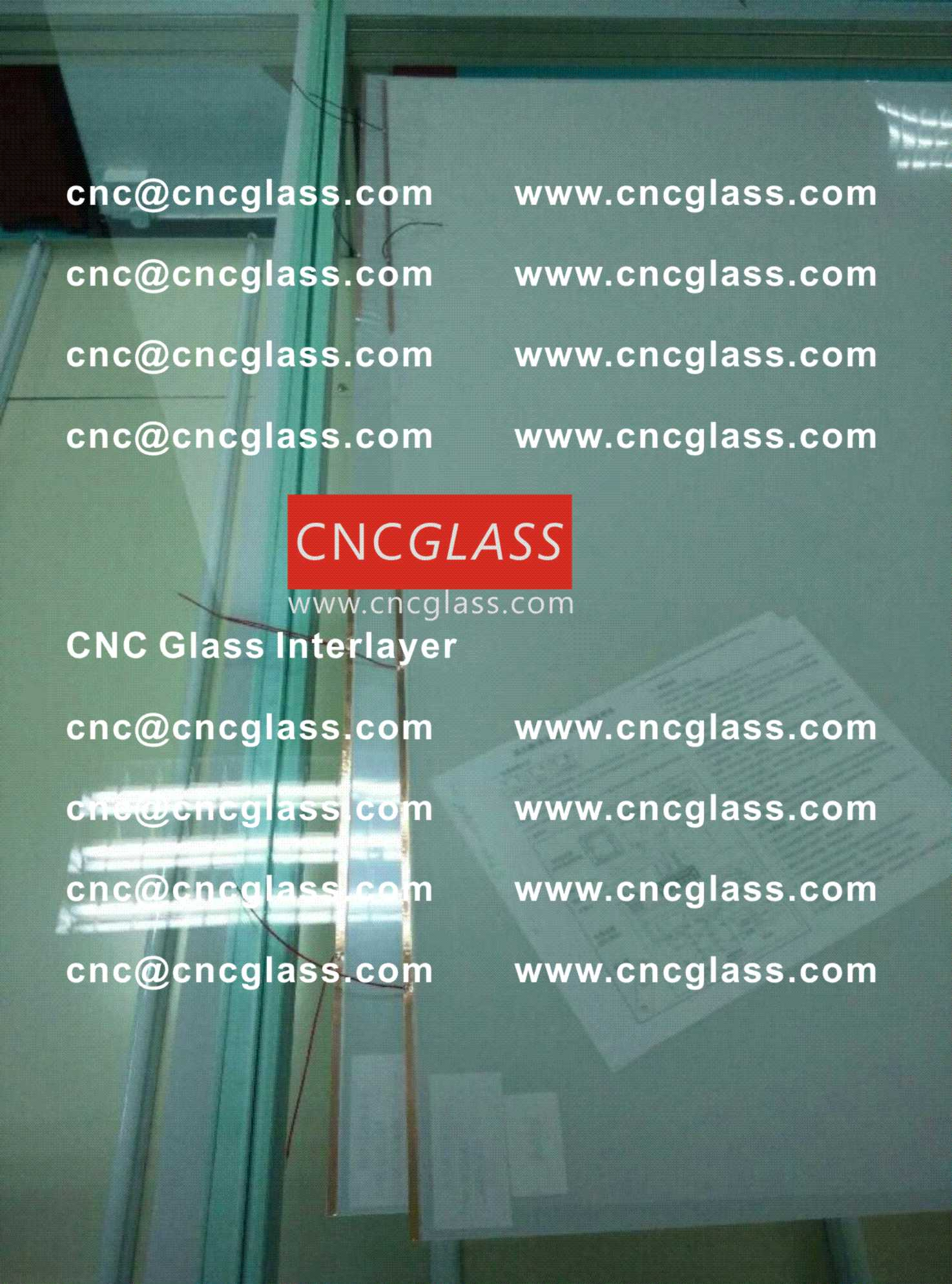 001 Smart Glass Film for safety laminated glass insert