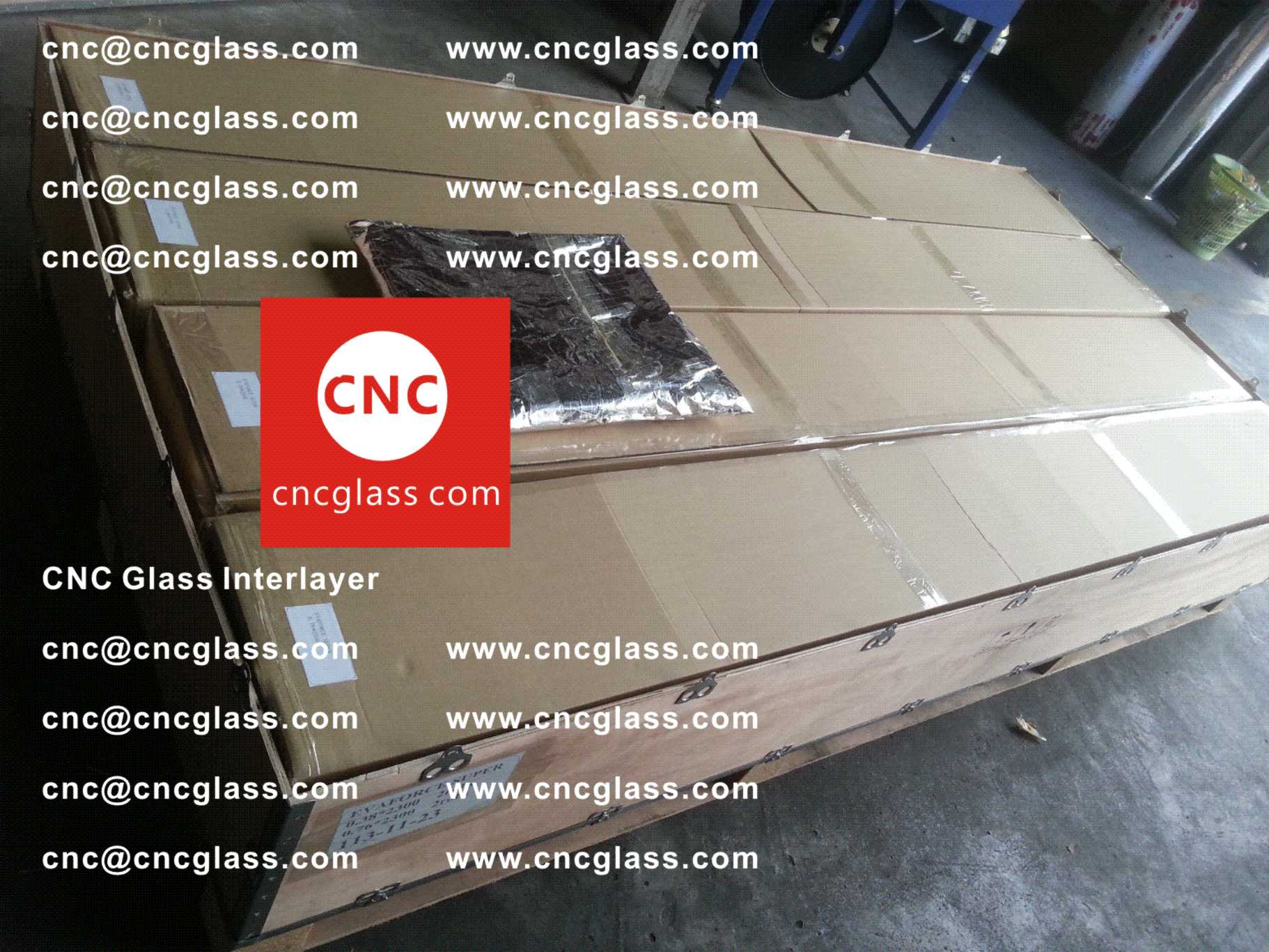 003 Package of EVA safety interlayer film for laminated glass