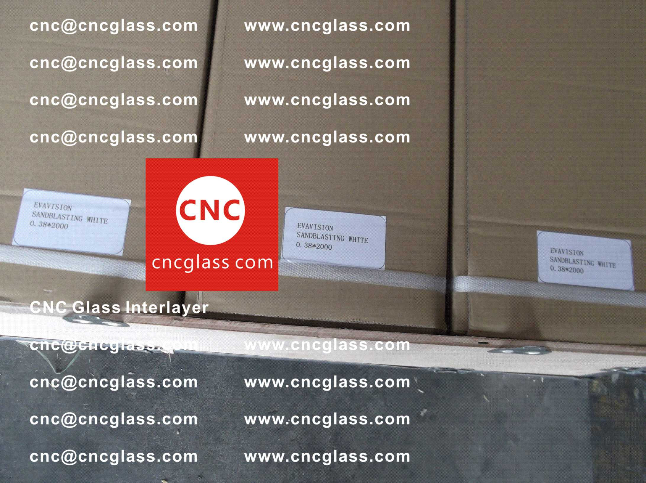 004 Package of EVA safety interlayer film for laminated glass