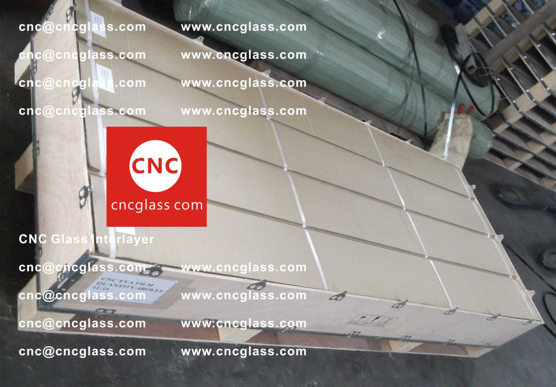 005 Package of EVA safety interlayer film for laminated glass