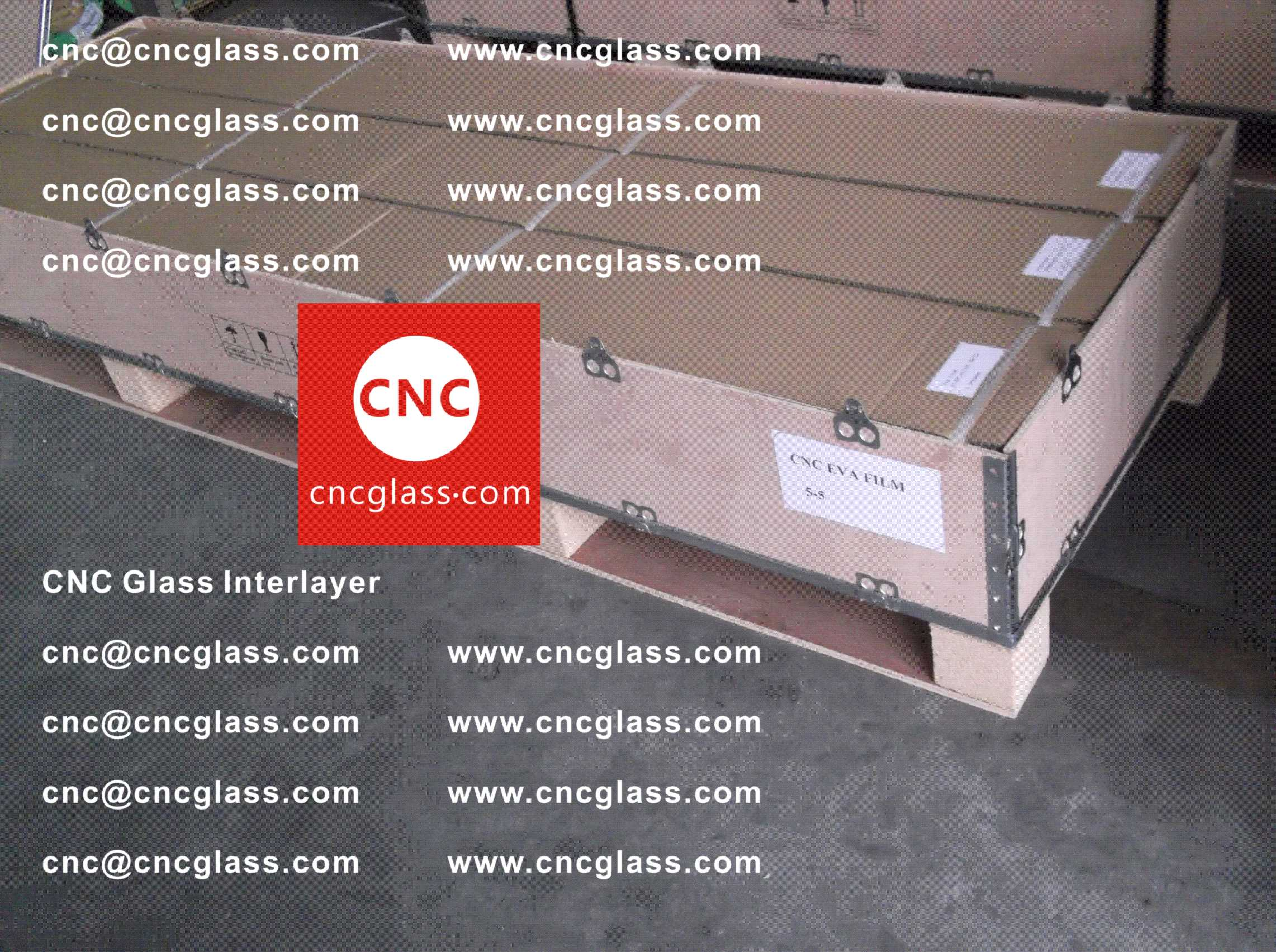 007 Package of EVA safety interlayer film for laminated glass