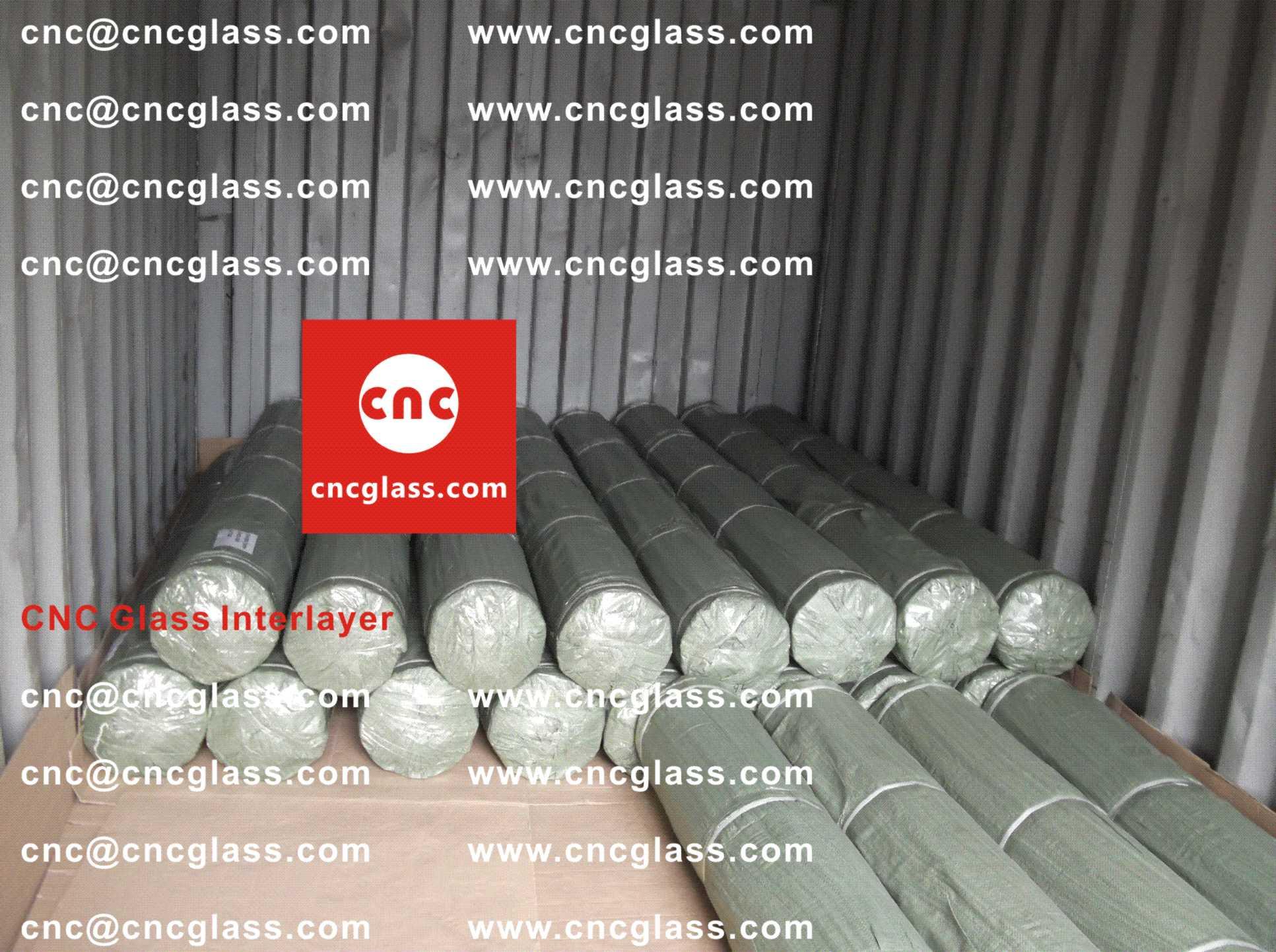 004 Packing Loading EVA Interlayer Film for Safety Laminated Glazing