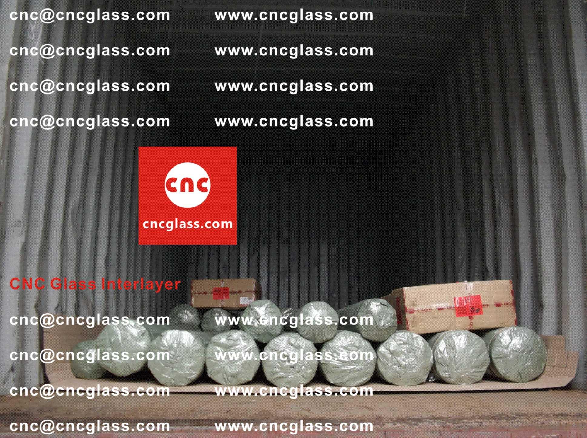 005 Packing Loading EVA Interlayer Film for Safety Laminated Glazing