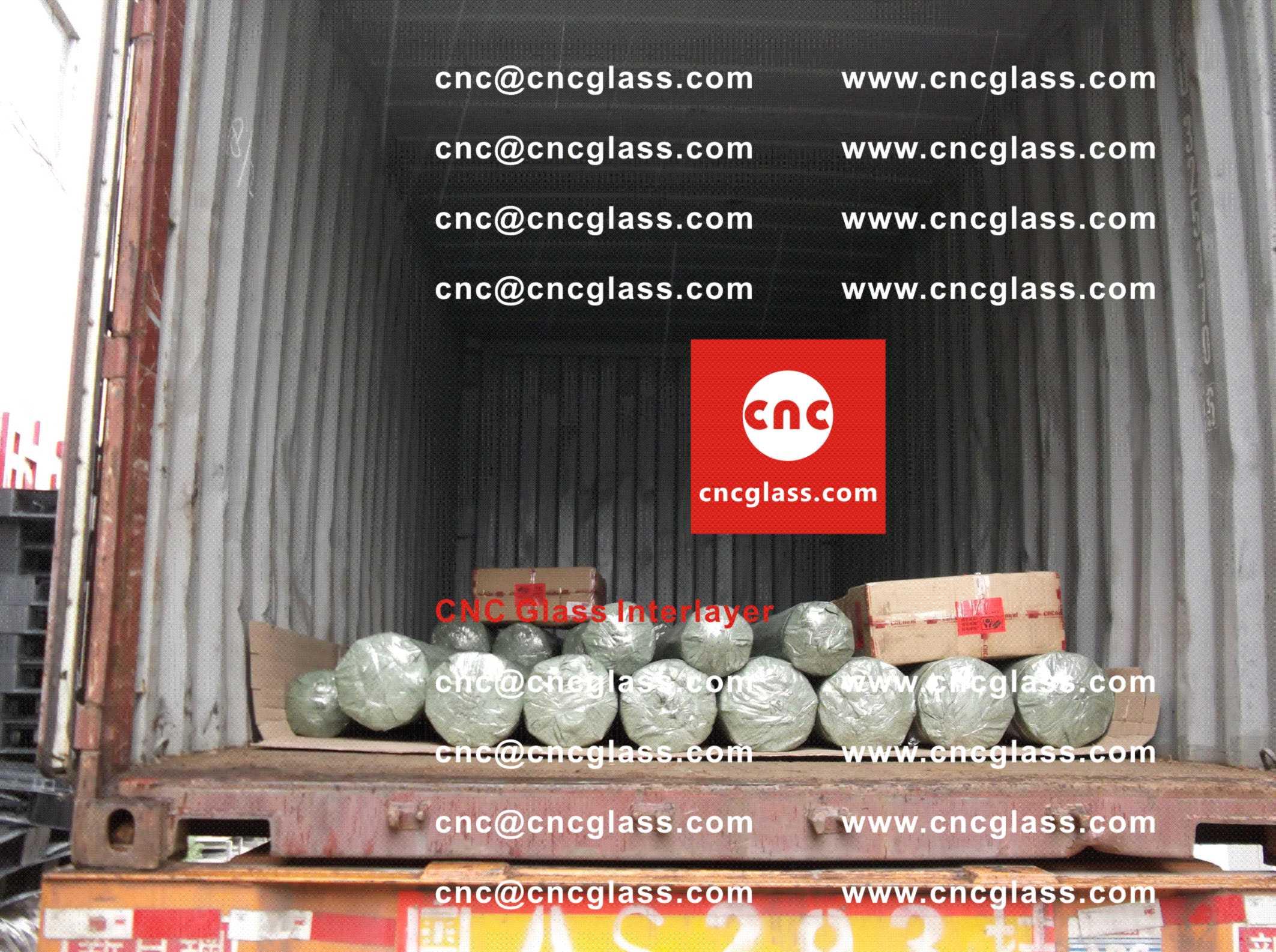 006 Packing Loading EVA Interlayer Film for Safety Laminated Glazing
