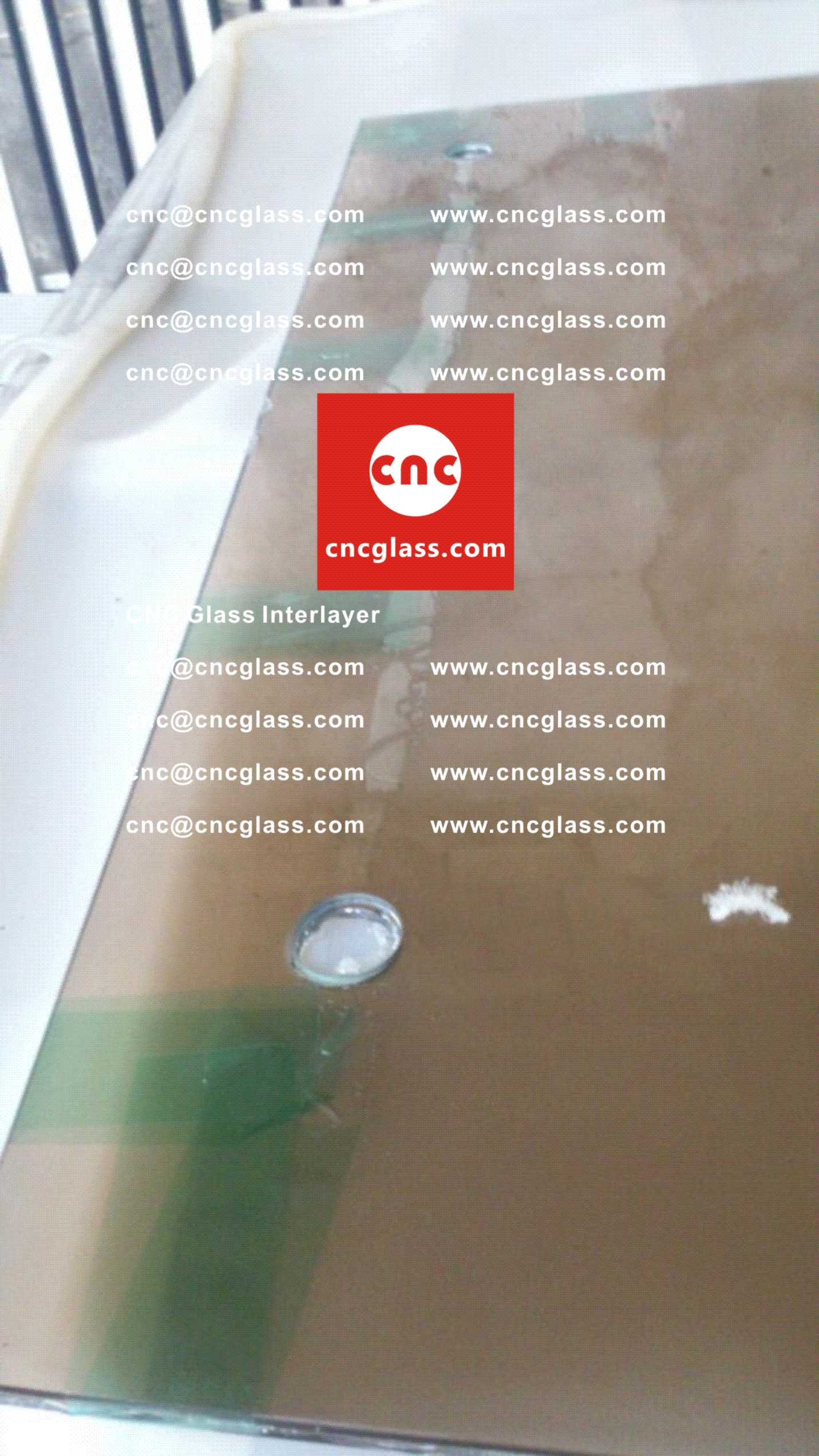 Too High Temperature Causing Bubbles in EVA Film Safety Laminated Glass Glazing (Practical Case Study) (1)