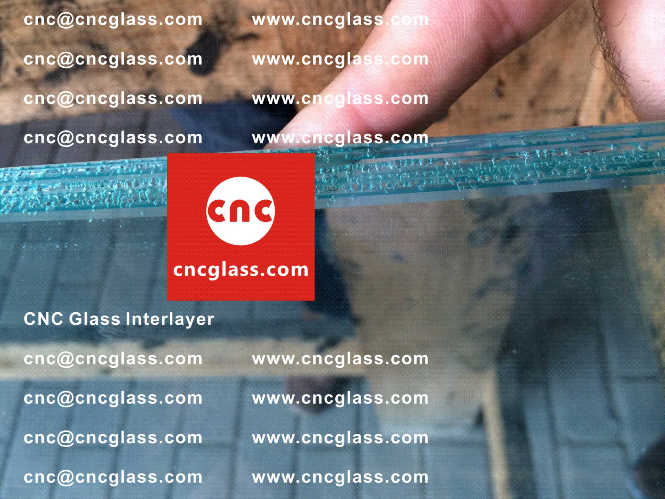 Too High Temperature Causing Bubbles in EVA Film Safety Laminated Glass Glazing (Practical Case Study) (2)
