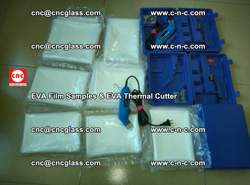 EVAFORCE SUPER CLEAR EVA Film Samples and EVA Thermal Cutter (24)