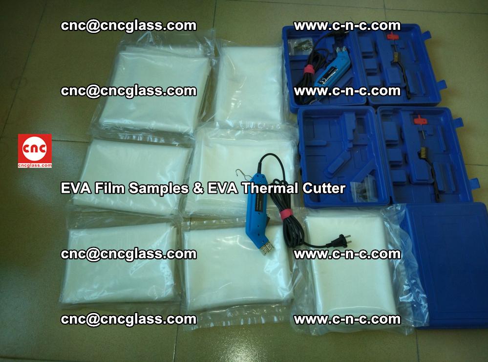 EVAFORCE SUPER CLEAR EVA Film Samples and EVA Thermal Cutter (26)