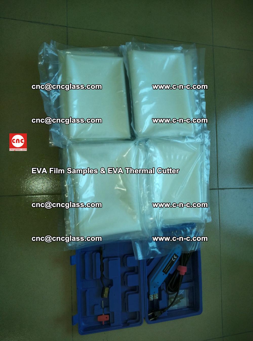 EVAFORCE SUPER CLEAR EVA Film Samples and EVA Thermal Cutter (38)