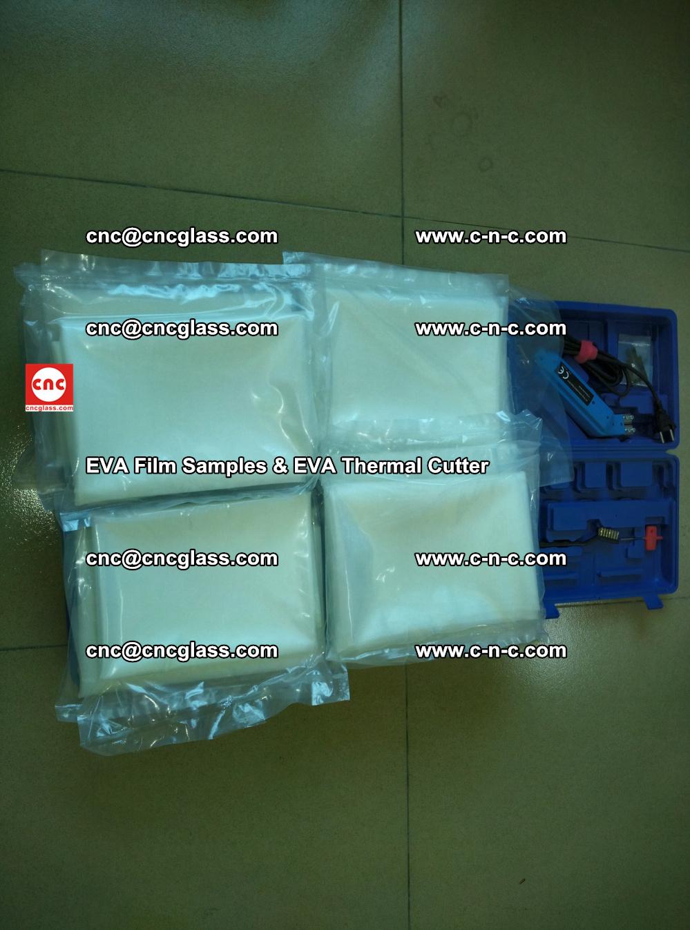 EVAFORCE SUPER CLEAR EVA Film Samples and EVA Thermal Cutter (42)