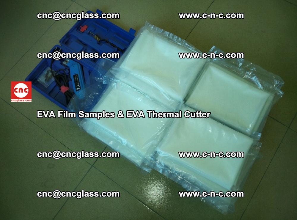 EVAFORCE SUPER CLEAR EVA Film Samples and EVA Thermal Cutter (47)