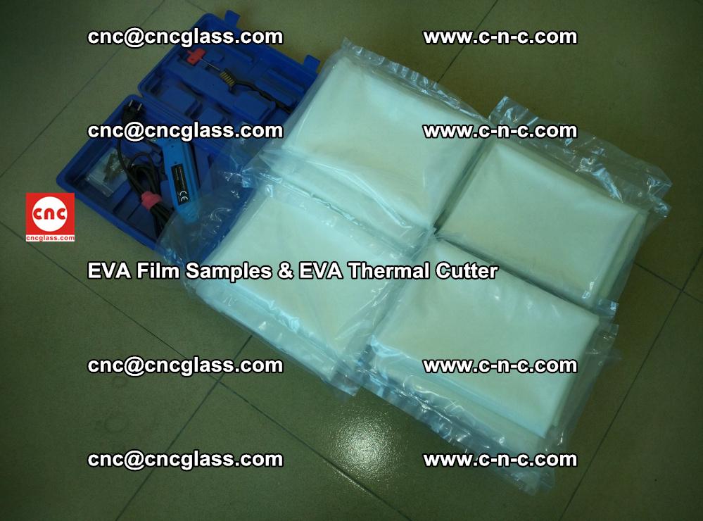 EVAFORCE SUPER CLEAR EVA Film Samples and EVA Thermal Cutter (48)