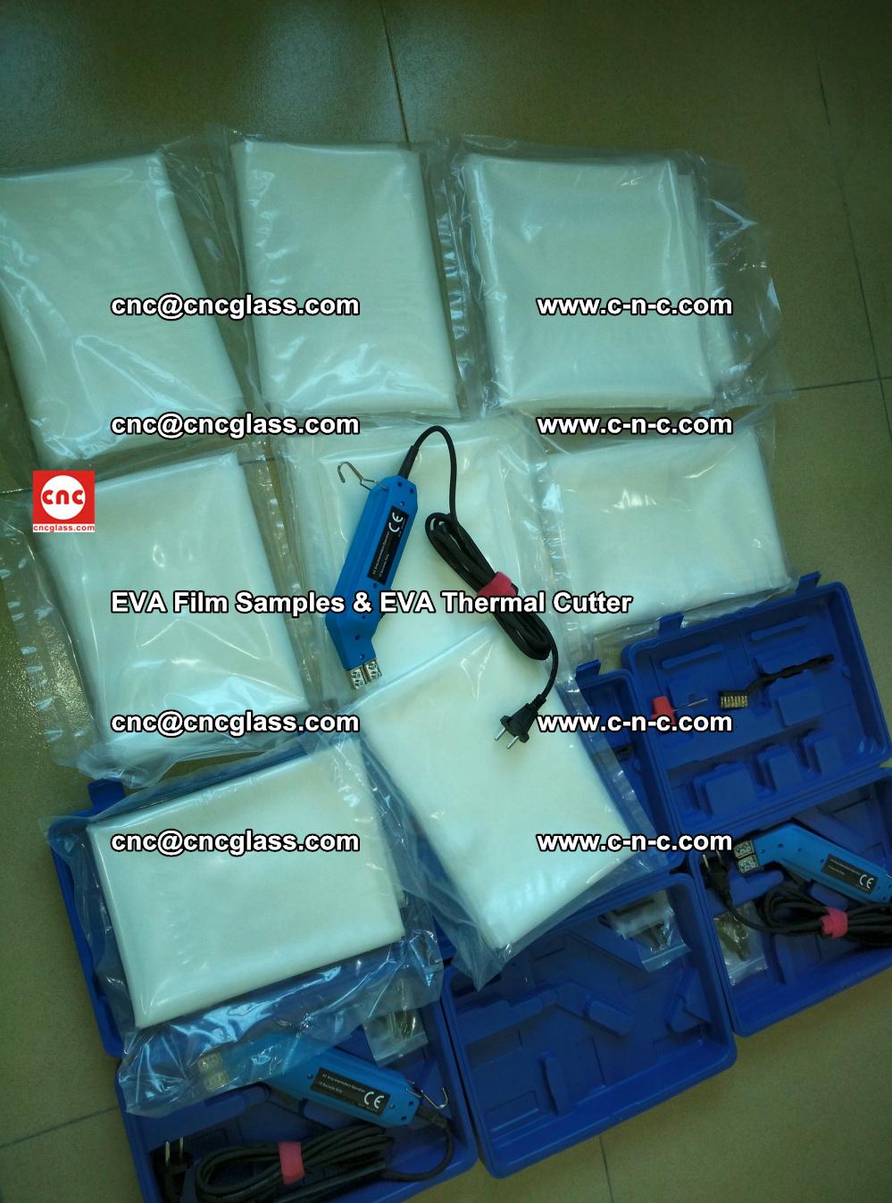 EVAFORCE SUPER CLEAR EVA Film Samples and EVA Thermal Cutter (5)
