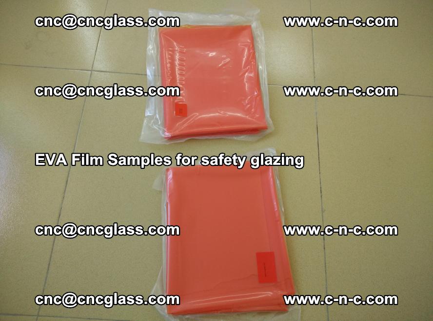 Ethylene Vinyl Acetate EVA FILM INTERLAYER samples for laminated safety glass (13)
