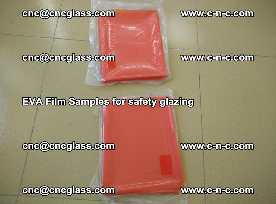 Ethylene Vinyl Acetate EVA FILM INTERLAYER samples for laminated safety glass (15)