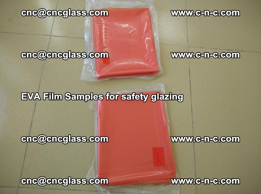 Ethylene Vinyl Acetate EVA FILM INTERLAYER samples for laminated safety glass (16)