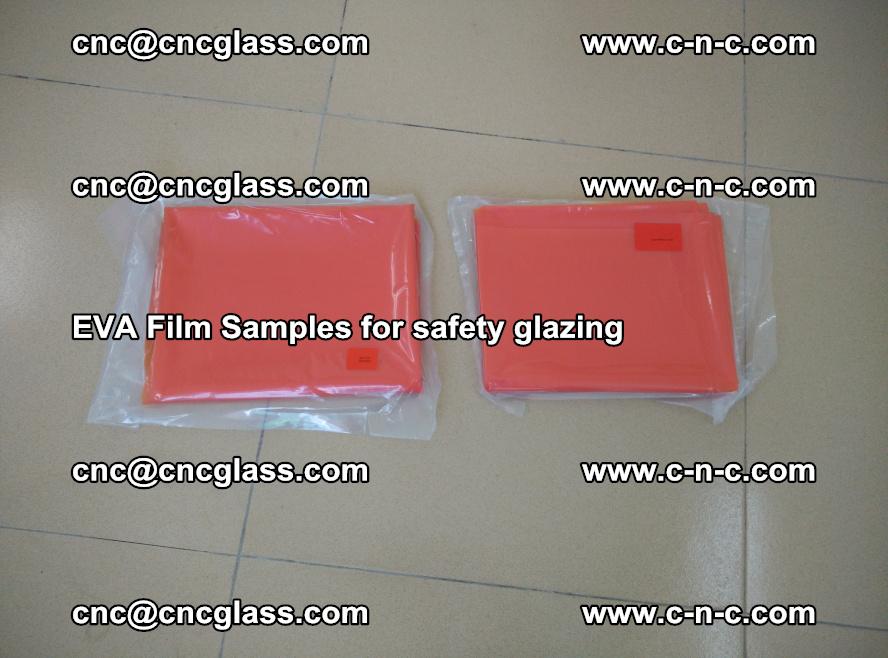 Ethylene Vinyl Acetate EVA FILM INTERLAYER samples for laminated safety glass (17)