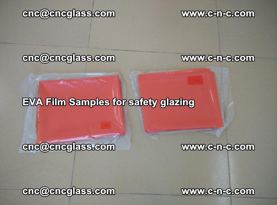 Ethylene Vinyl Acetate EVA FILM INTERLAYER samples for laminated safety glass (19)