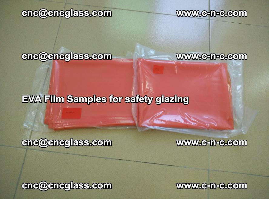 Ethylene Vinyl Acetate EVA FILM INTERLAYER samples for laminated safety glass (2)