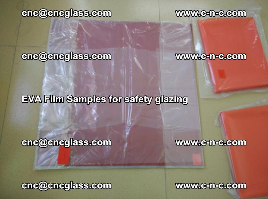 Ethylene Vinyl Acetate EVA FILM INTERLAYER samples for laminated safety glass (21)