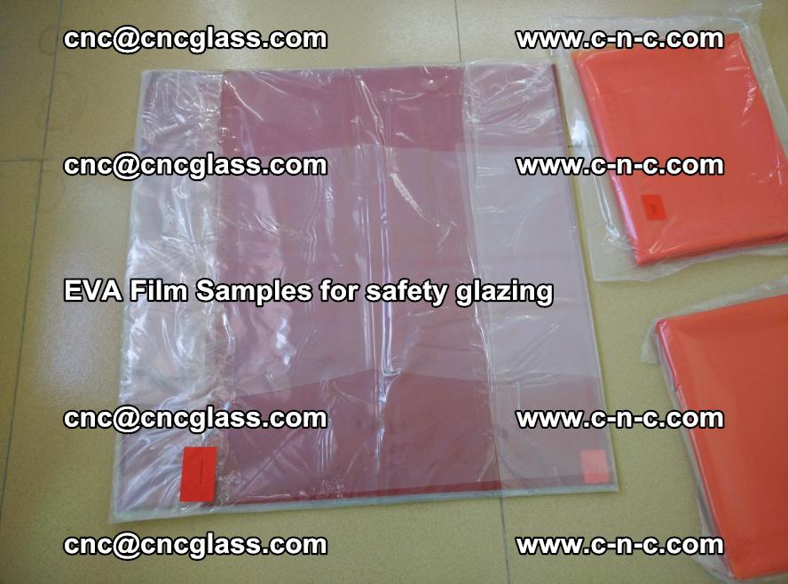 Ethylene Vinyl Acetate EVA FILM INTERLAYER samples for laminated safety glass (23)