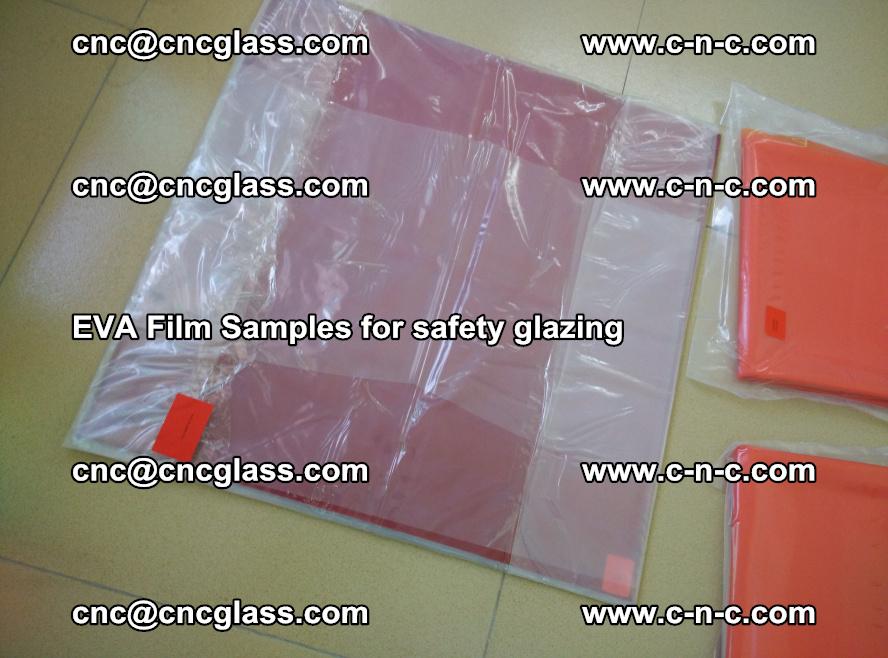 Ethylene Vinyl Acetate EVA FILM INTERLAYER samples for laminated safety glass (29)